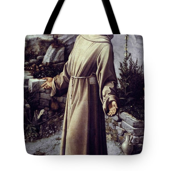 St. Francis Of Assisi Tote Bag by Granger