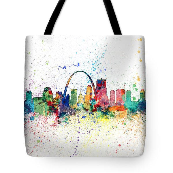 St Louis Missouri Skyline Tote Bag