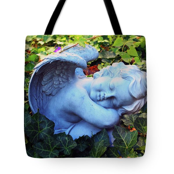 Tote Bag featuring the sculpture Stillness by Tom Druin