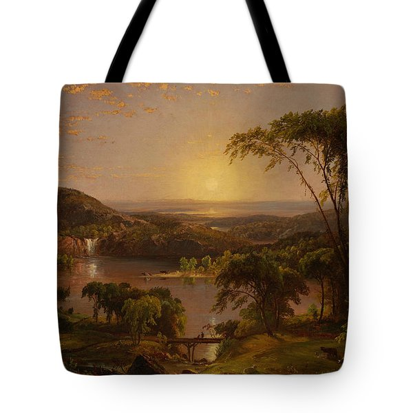 Summer Lake Ontario Tote Bag