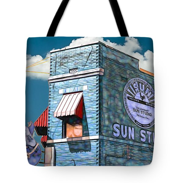 Sun Studio Collection Tote Bag by Marvin Blaine