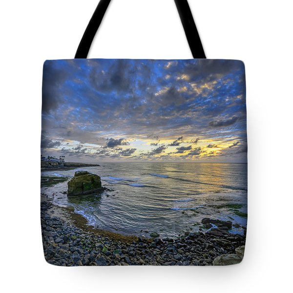 Sunset Cliffs Tote Bag