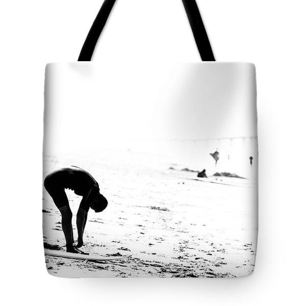 Surfer Tote Bag by Nicholas Burningham