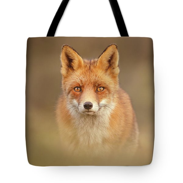That Foxy Face Tote Bag