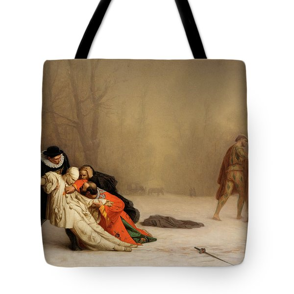 The Duel After The Masquerade Tote Bag