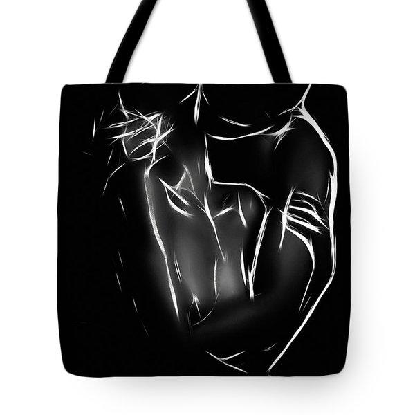 The Kiss Tote Bag by Steve K