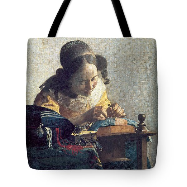 The Lacemaker Tote Bag