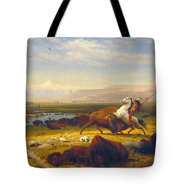 The Last Of The Buffalo Tote Bag