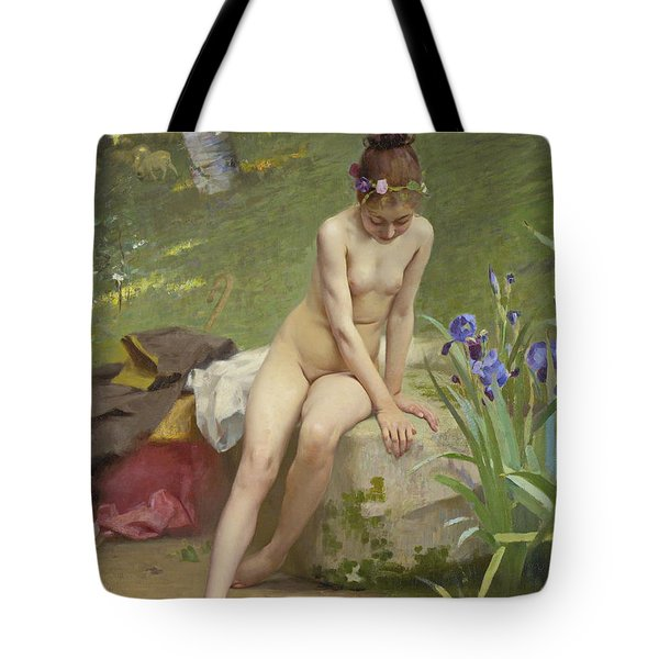 The Little Shepherdess Tote Bag