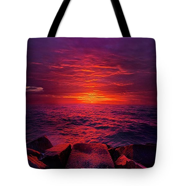Tote Bag featuring the photograph The Path by Phil Koch
