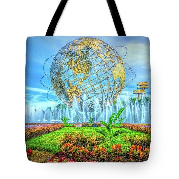 The Unisphere Tote Bag