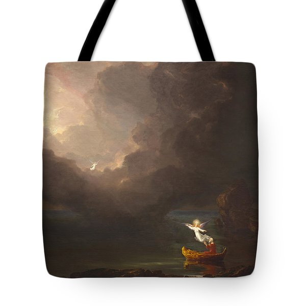 The Voyage Of Life Old Age Tote Bag