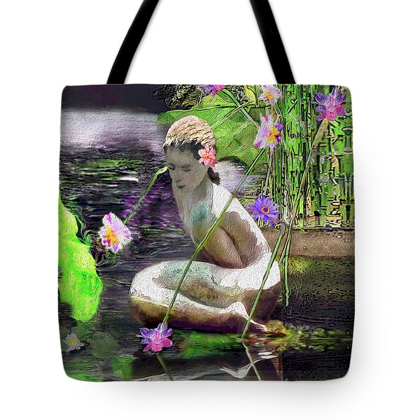 The Water Maiden Tote Bag