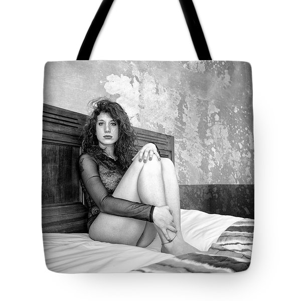 Trust Yourself Then You Will Know How To Live Tote Bag by Traven Milovich