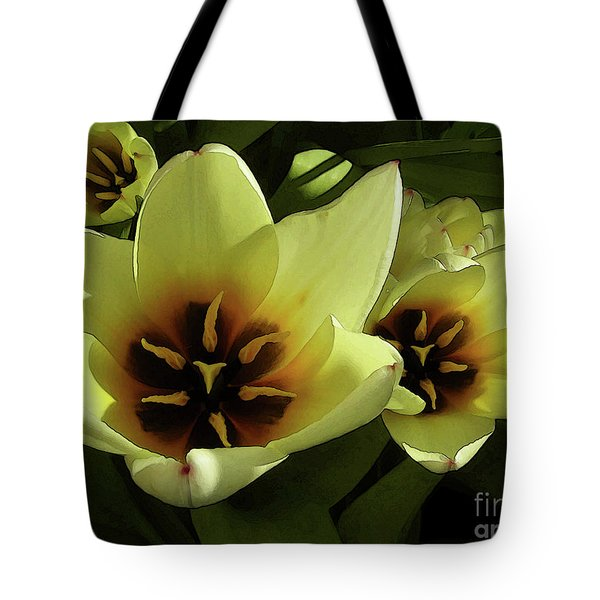Tulip Lights #4 Tote Bag