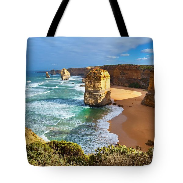 Twelve Apostles Great Ocean Road Tote Bag