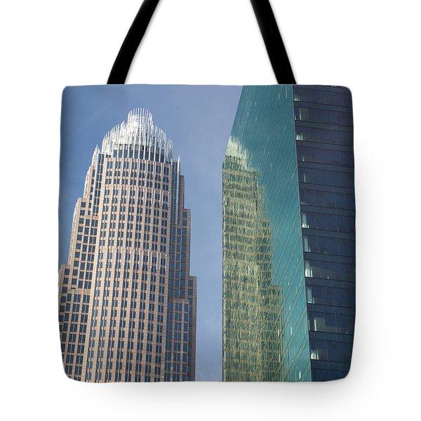 Uptown Charlotte, North Carolina Tote Bag