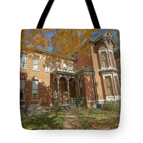 Vaile Mansion Tote Bag by Liane Wright