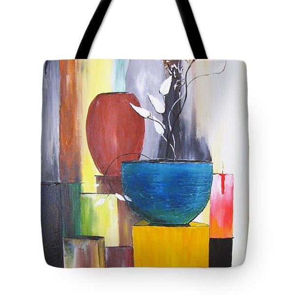 3 Vases Tote Bag