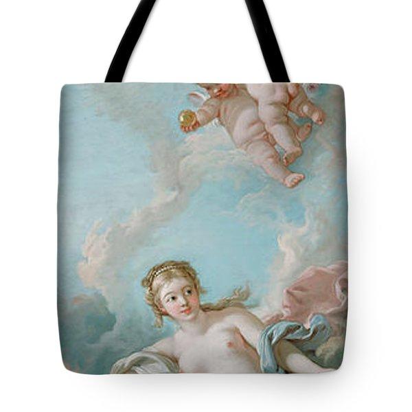 Venus On The Waves Tote Bag