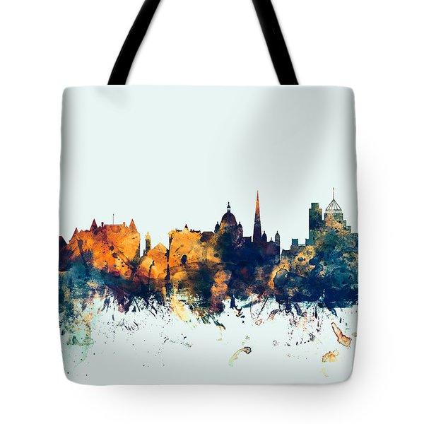 Victoria Canada Skyline Tote Bag