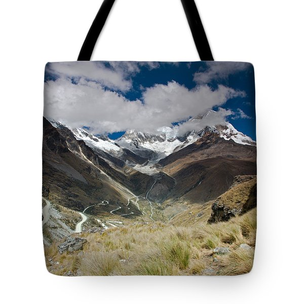 View From Portachuelo Pass Tote Bag