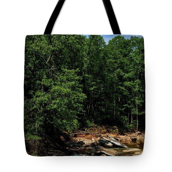 Tote Bag featuring the photograph Williams River After The Flood by Thomas R Fletcher
