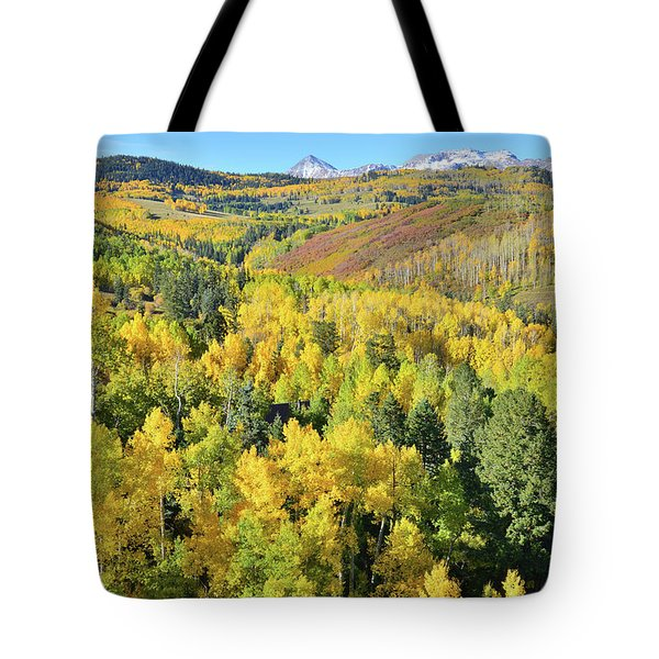 Tote Bag featuring the photograph Wilson Mesa by Ray Mathis