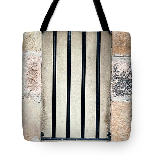 Window Bars Tote Bag