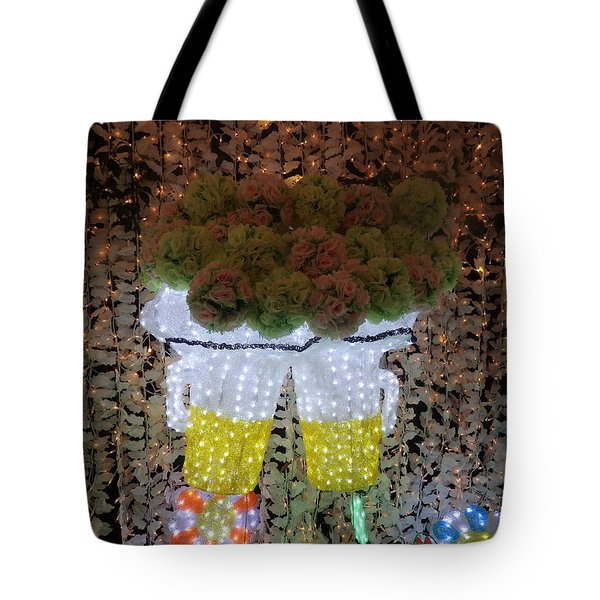 Winter Illumination Tote Bag