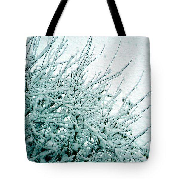 Tote Bag featuring the photograph Winter Wonderland In Switzerland by Susanne Van Hulst