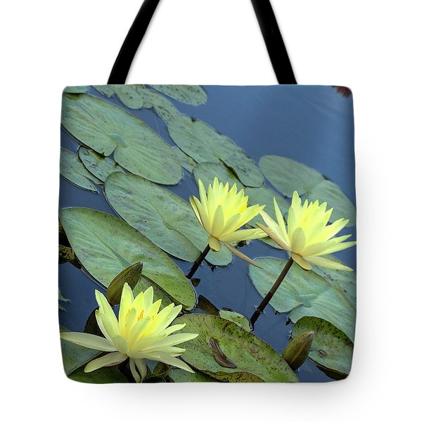3 Yellow Tote Bag