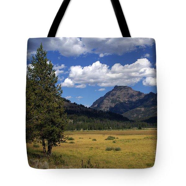 Yellowstone Vista Tote Bag by Marty Koch