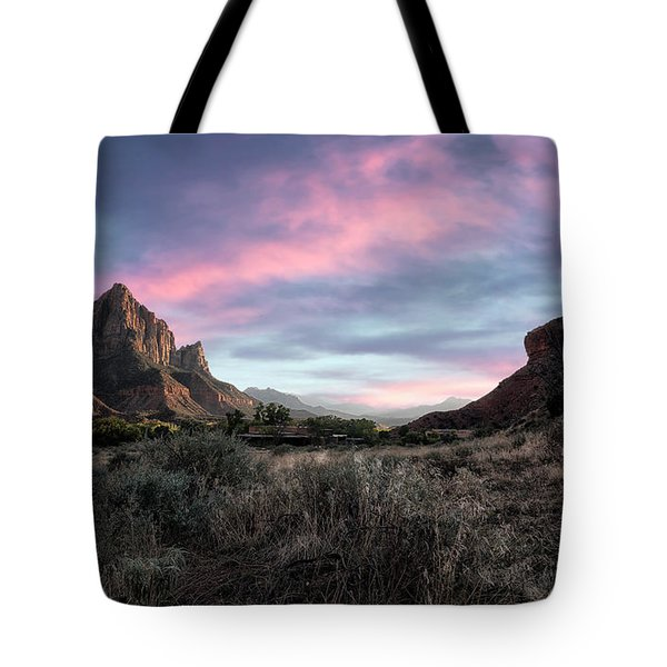 Zion Valley  Tote Bag
