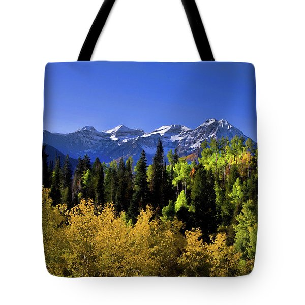 Autumn Splender Tote Bag