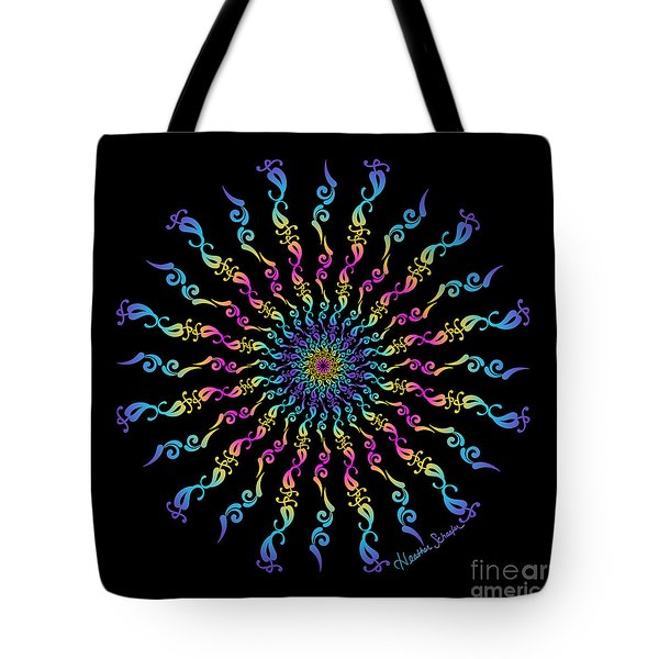 30 Degrees Of Separation Tote Bag