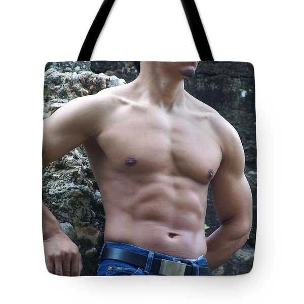 The Poser Tote Bag by Jake Hartz