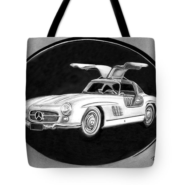 300 Sl Gullwing Tote Bag