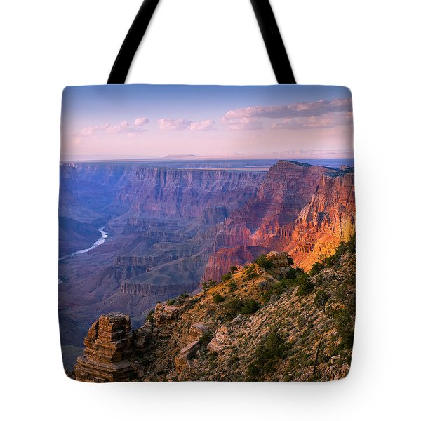 Canyon Glow Tote Bag by Mikes Nature