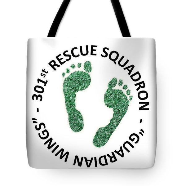 301st Rescue Squadron Tote Bag by Julio Lopez