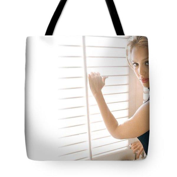 30511 Jessica Alba Tote Bag