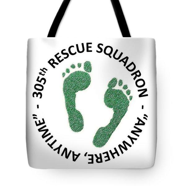 305th Rescue Squadron Tote Bag