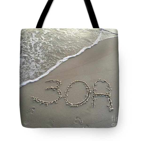 30a Beach Tote Bag