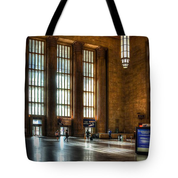 30th Street Station Tote Bag by Rick Mosher