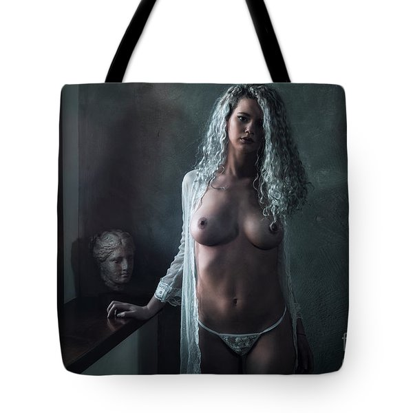 Tu M'as Promis Tote Bag by Traven Milovich
