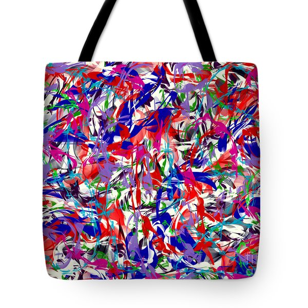 Tote Bag featuring the digital art B T Y L by James Lanigan Thompson MFA