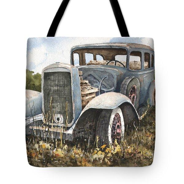 32 Buick Tote Bag