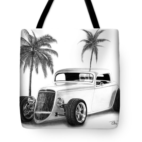 33 Ford Coupe Tote Bag