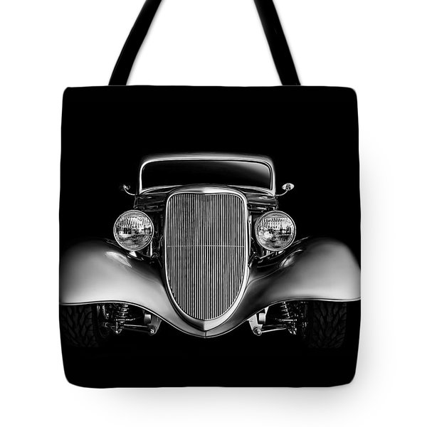Tote Bag featuring the digital art '33 Ford Hotrod by Douglas Pittman