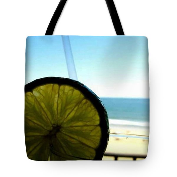 By The Beach Tote Bag